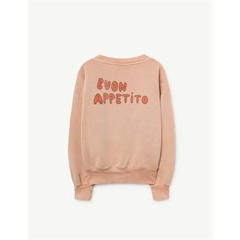 Bear Sweatshirt Toasted Almond