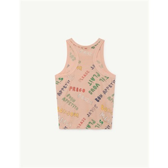Tank Frog T-Shirt Toasted Almond