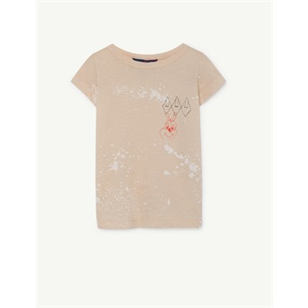 Hippo T-Shirt Brown Splashes