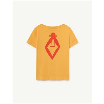 Rooster T-Shirt Yellow TAO