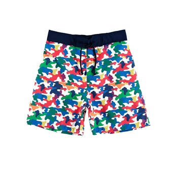 Rainbow Camo Swimpants