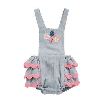 Baby Rompers Pinata Silver Cloud