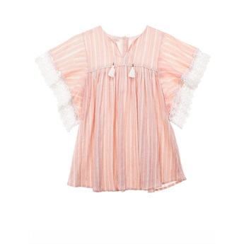 Dress Sterlitzia Blush Stripes