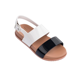 Mel Cosmic Sandal Black / White / Brown