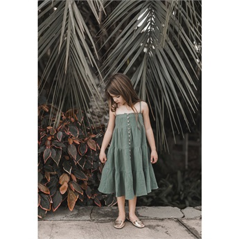 Rainforest Tiered Maxi Dress