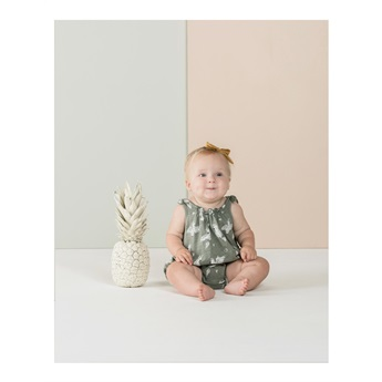 Baby Coctatoo Shoulder Tie Onesie
