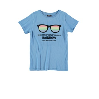 Raibow Sunglasses Tee Anthracite