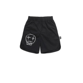 Baby Sketch Skull Surf Shorts