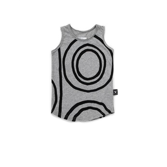 Circle Tank Top Heather Grey
