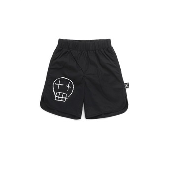 Sketch Skull Beach Shorts