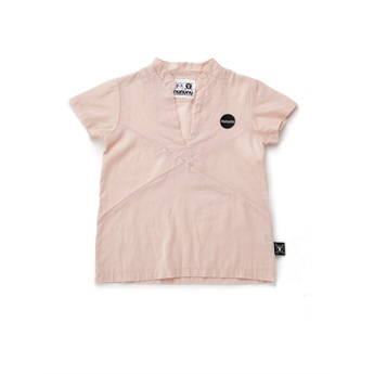 Solid Jersey Beach Shirt Powder Pink