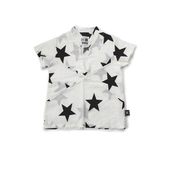 Star Beach Shirt White