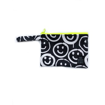 Waterproof Bag Black Smilies Mini