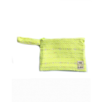 Waterproof Bag Yellow Knit Mini