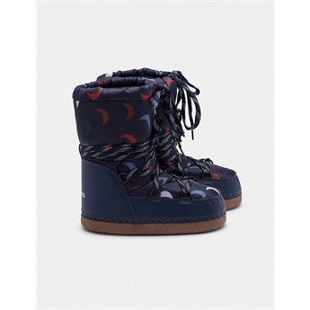 Blue Cosmos Boots