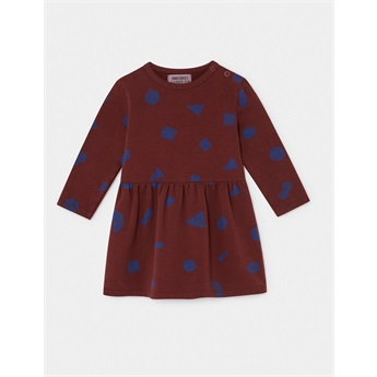 Baby All Over Stuff Fleece Dress