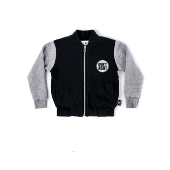 Letterman Jacket Black