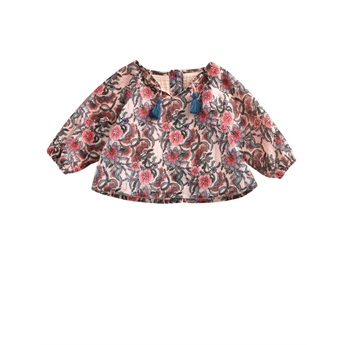 Baby Blouse Caletta Blush Flowers