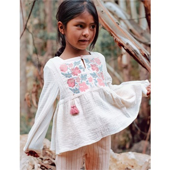 Baby Blouse Ulia Cream