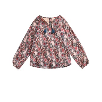 Blouse Caletta Blush Flowers