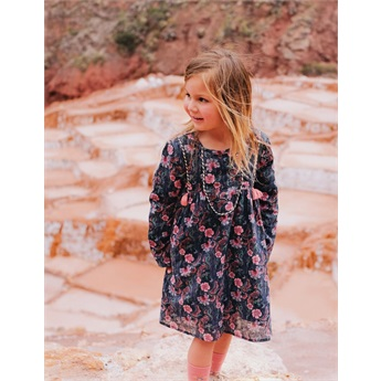 Dress Roulotta Storm Flowers