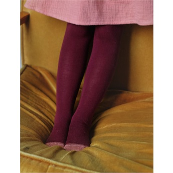Tights Lucia Burgundy