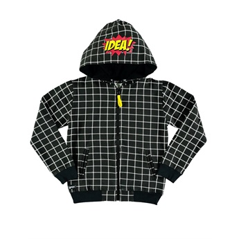 Checker Plaid Hoodie