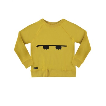 Peekaboo Zipper Sweat