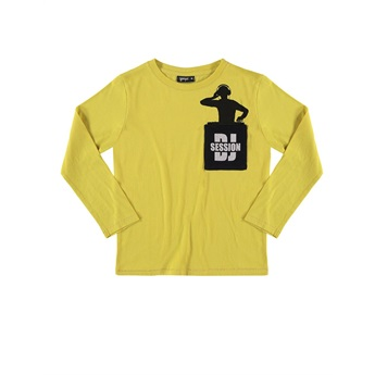 DJ Pocket T-Shirt True Yellow