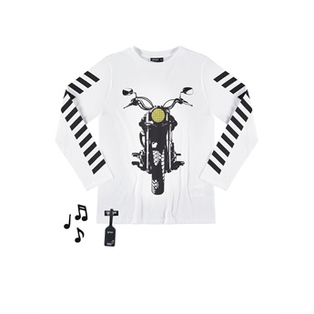 Motorbike T-Shirt Off White