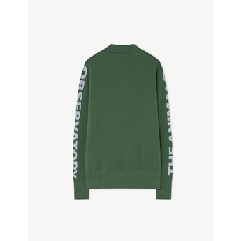 Zebra Sweatshirt Green