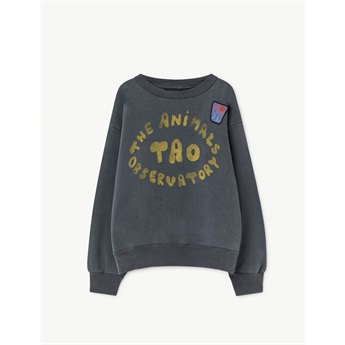 Bear Sweatshirt Blue The Animals