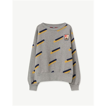 Bear Sweatshirt Grey 80s
