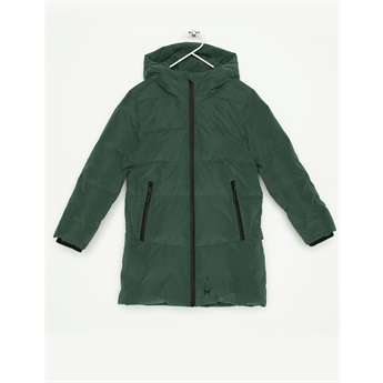 Mega Shark Puffer Jacket Hunter Green