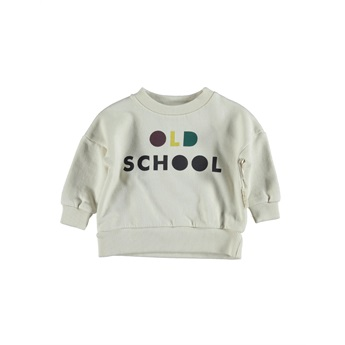 Baby Sweatshirt Ecru Old School
