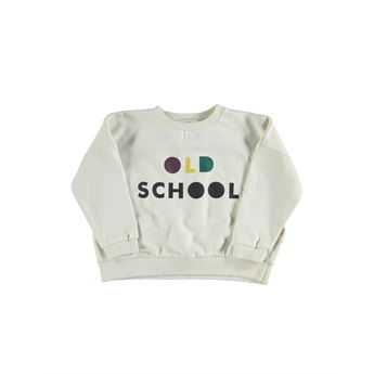 Sweatshirt Ecru Old School