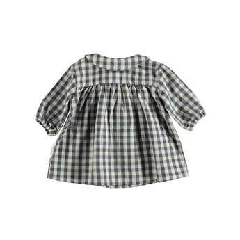 Baby Dress Peter Pan Checkered