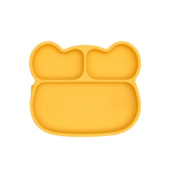 Sticky Plate Bear Yellow