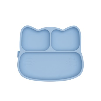 Sticky Plate Cat Powder Blue