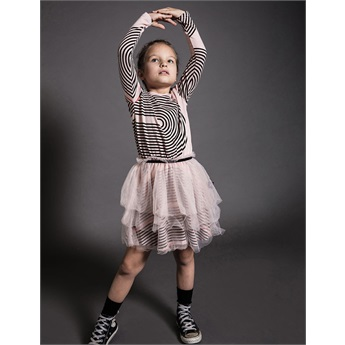 Baby Spiral Tulle Dress