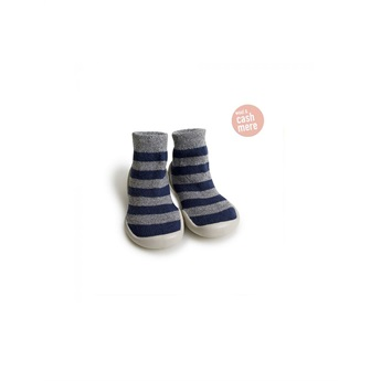Slippers Mountain Stripes Cashmere