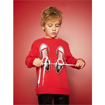 Shoelaces Sweat Red