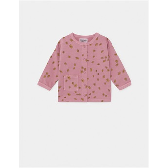 Baby All Over Daisy Buttoned Sweatshirt