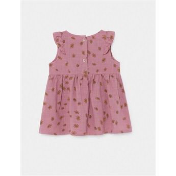 Baby All Over Daisy Ruffle Dress