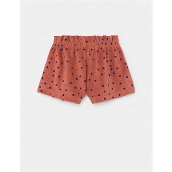 Dots Terry Towel Shorts