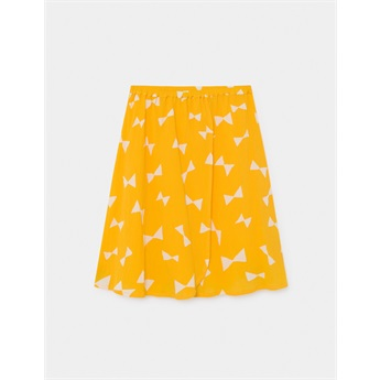 All Over Bow Wrap Midi Skirt