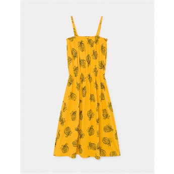 All Over Pineapple Jersey Dress