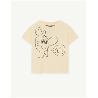 Baby Rooster T-Shirt Yellow OUI