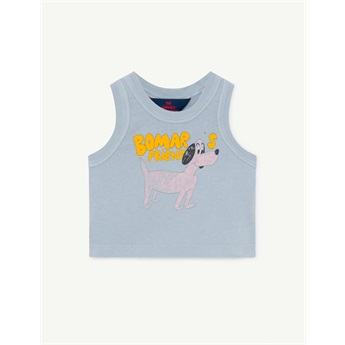 Baby Frog T-Shirt Blue Dog