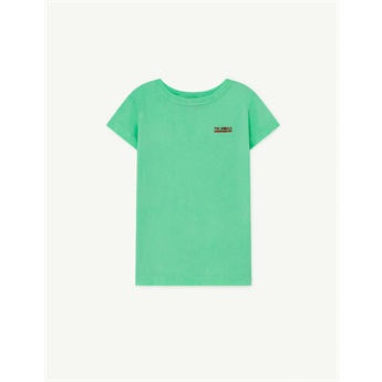 Hippo T-Shirt Green The Animals